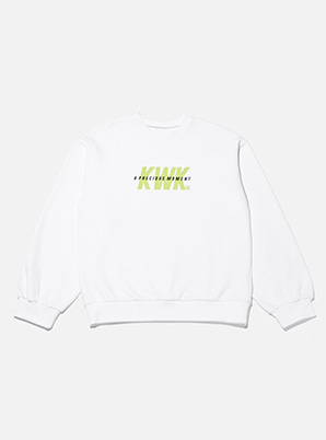 [A PRECIOUS MOMENT] KICHWORK  collabo sporty sweatshirt