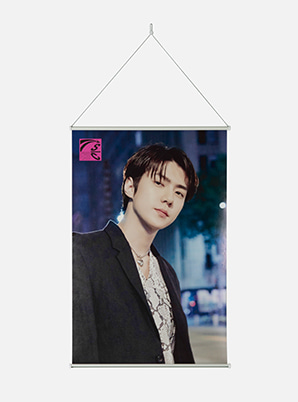 SEHUN WALL SCROLL POSTER