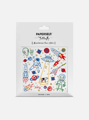 [MD &P!CK] PAPERSELF UFO TATTOO STICKER