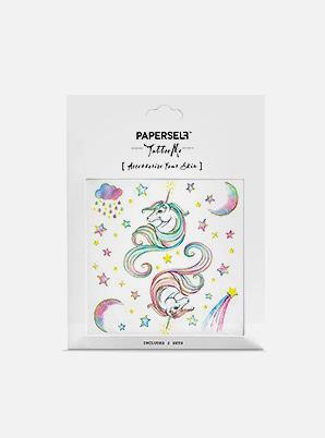 [MD &P!CK] PAPERSELF Unicorn TATTOO STICKER