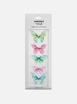 [MD &P!CK] PAPERSELF Butterfly W  TATTOO STICKER