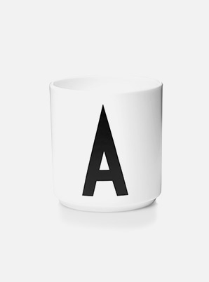 Home Cafe DESIGN LETTERS Personal Porcelain Cup