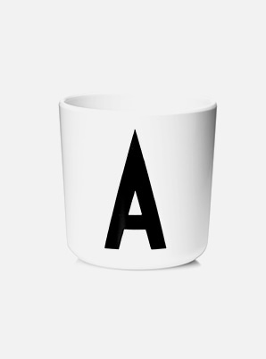 [MD &P!CK] DESIGN LETTERS Melamine Cup