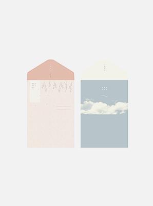 dash and dot folding simple letter set_L