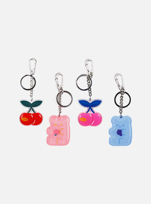 Be on D KEY RING - 90S COOLKIDS PARTY