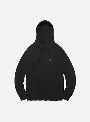 [STYLIST &P!CK] Pavement STANDARD HOODIE IA - BLACK