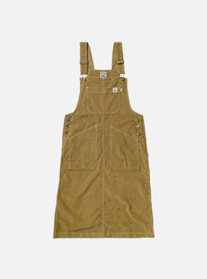 [STYLIST &P!CK] CHIQUITA C19-4 Corduroy Overall SK W - Camel