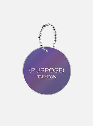 TAEYEON RANDOM KEYRING - Purpose Repackage