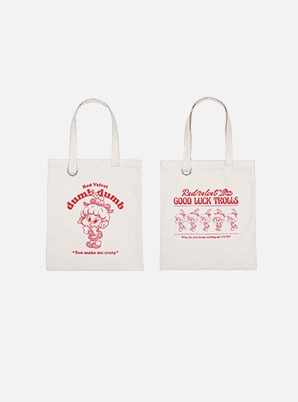 Red Velvet ECO BAG - Red Velvet Loves GOOD LUCK TROLLS