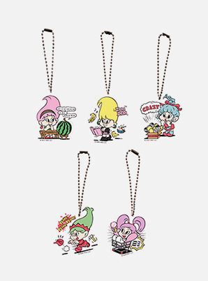Red Velvet ACRYLIC CHARM - Red Velvet Loves GOOD LUCK TROLLS