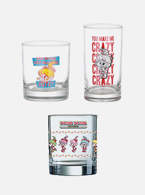 Red Velvet GLASS CUP - Red Velvet Loves GOOD LUCK TROLLS