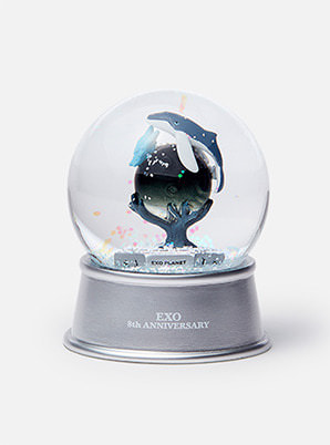 EXO 8th ANNIVERSARY GLITTER WATER BALL