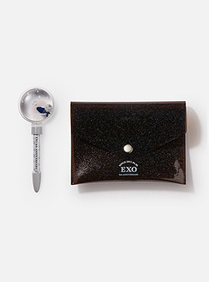 EXO 8th ANNIVERSARY WATER BALL PEN & POUCH