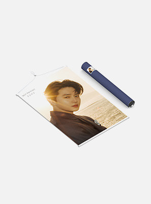 SUHO WALL SCROLL POSTER - 자화상 (Self-Portrait)