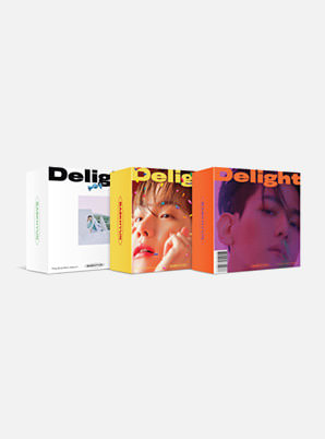BAEKHYUN The 2nd Mini Album - Delight (Kit Ver.) (Random cover ver.)