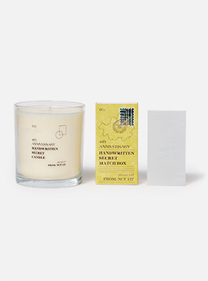NCT 127 4th ANNIVERSARY SECRET CANDLE SET
