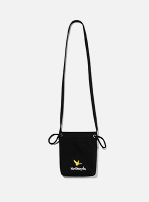 MARK GONZALES ECO POUCH BAG BLACK