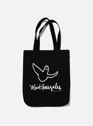 MARK GONZALES ANGEL LOGO ECO BAG BLACK