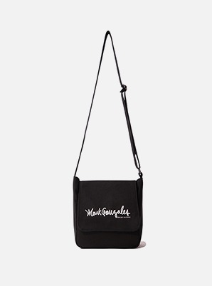 MARK GONZALES ECO POST BAG BLACK