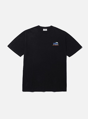 MARK GONZALES SURFING ANGEL T-SHIRTS BLACK