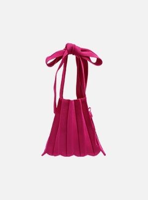 JOSEPH&STACEY Lucky Pleats Knit S Half & Half Berrymix