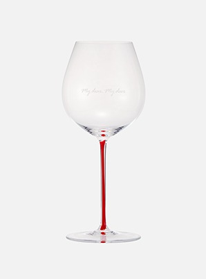 [CELEB &P!CK] MAX CHANGMIN PINOT NOIR GLASS - RED