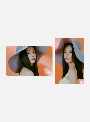Red Velvet - IRENE & SEULGI TRANSPORTATION CARD - Monster