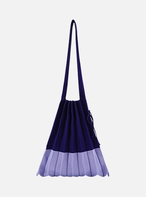 JOSEPH&STACEY Lucky Pleats Knit M Mix Blueberry