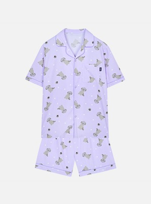 [TAEYEON X ZERO] SPAO ZERO PAJAMAS LIGHT PURPLE