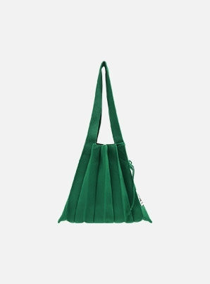 JOSEPH&STACEY Lucky Pleats Knit S Jelly Green