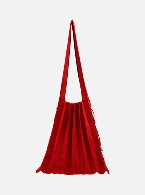 JOSEPH&STACEY Lucky Pleats Knit M Barbados Red