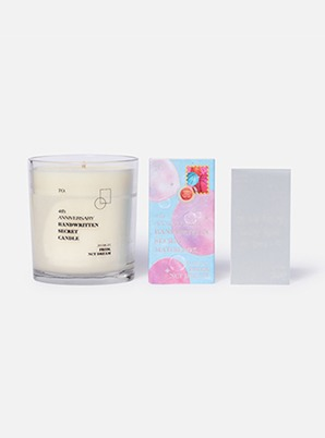 NCT DREAM 4th ANNIVERSARY SECRET CANDLE SET