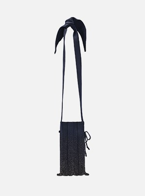 JOSEPH&STACEY Lucky Pleats Knit S Cellbag Galaxy Night
