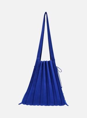 JOSEPH&STACEY Lucky Pleats Knit M Royal Blue