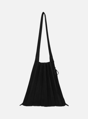 JOSEPH&STACEY Lucky Pleats Knit M Rich Black