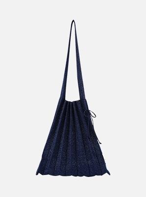 JOSEPH&STACEY Lucky Pleats Knit M Starry Navy