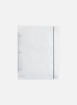 Be on :D DECO POCKET BIG A4 3HOLE BINDER COVER