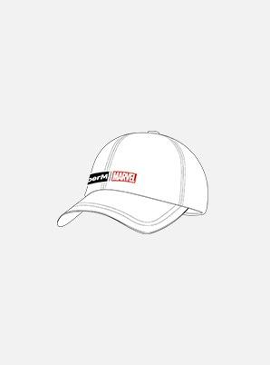 SuperM LOGO CAP - SuperM x MARVEL