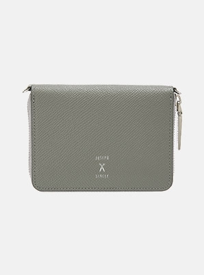 JOSEPH&STACEYEasypass OZ Card Wallet With Chain Gravity Grey