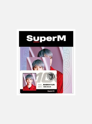 SuperM ID CARD + DECO STICKER SET - 100
