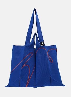 JOSEPH&STACEYLucky Pleats Knit SOC XL Chroma Blue