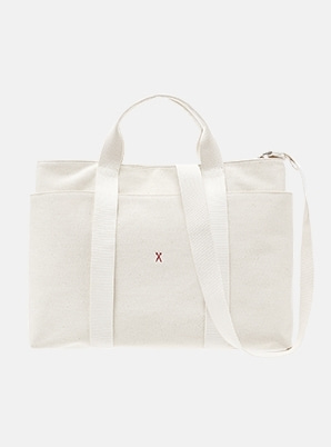 JOSEPH&STACEYStacey Daytrip Tote Canvas L Ivory