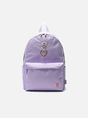 DAYLIFE DAYLIFE♥ESTHER BUNNY BIG HEART DAY BACKPACK (PURPLE)