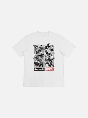 SuperM CHARACTER T-SHIRT L (C ver.) - SuperM x MARVEL