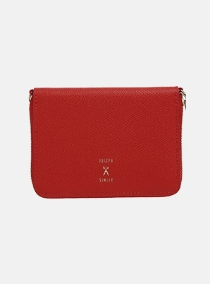 JOSEPH&STACEYEasypass OZ Card Wallet With Chain Chroma Red
