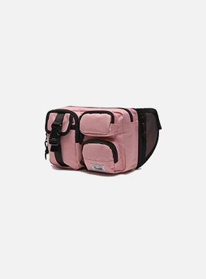 DAYLIFE MULTI BLOCK WAIST BAG (PINK)