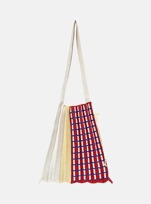 JOSEPH&STACEYLucky Pleats Knit SOC M Picnic Check