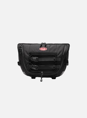 DAYLIFE SIGNAL MESSENGER BAG (BLACK)