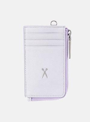 JOSEPH&STACEYEasypass OZ Vertical Card Wallet Light Purple