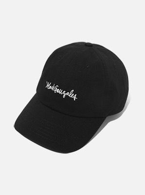 MARK GONZALES BALL CAP BLACK